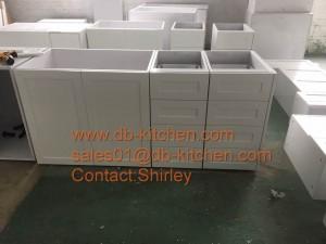 Pre-assemble kitchen cabinet