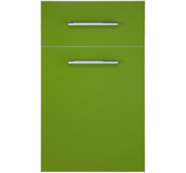 High gloss uv laminate kitchen cabinet door