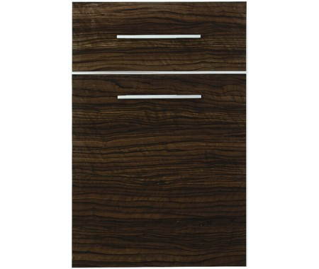 high gloss wood grain kitchen cabinet door wholesale