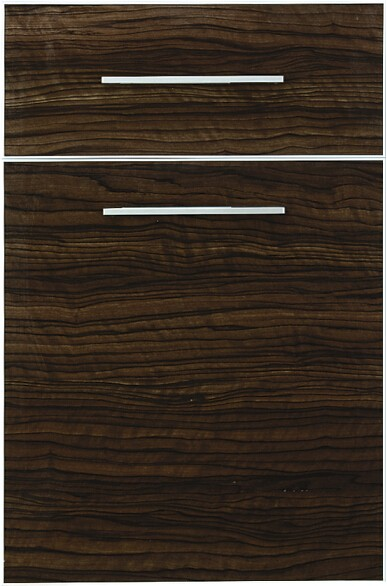 High Gloss Wood Grain Kitchen Cabinet Door Wholesale