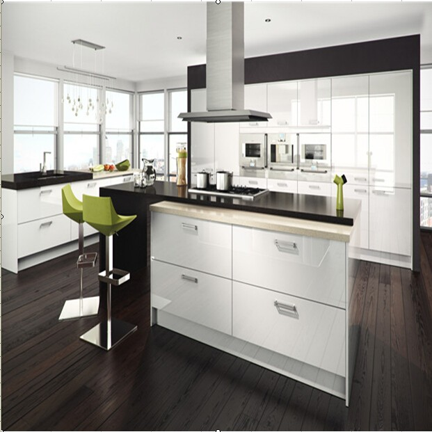 Acrylic Cabinet Kitchen Design