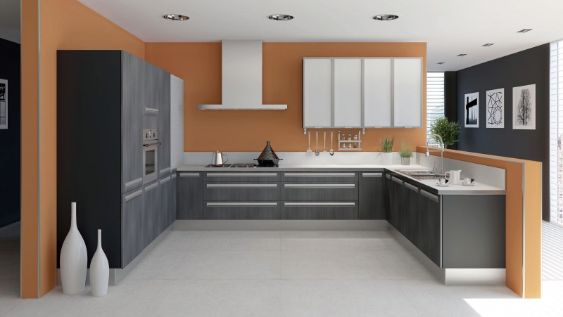 Jisheng Melamine Kitchen Cabinet Price Loading Zoom