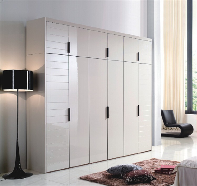 How To Make Built In Wardrobes With Sliding Doors: Daban Creates Wardrobe Designs For Bedroom, Melamine Robe