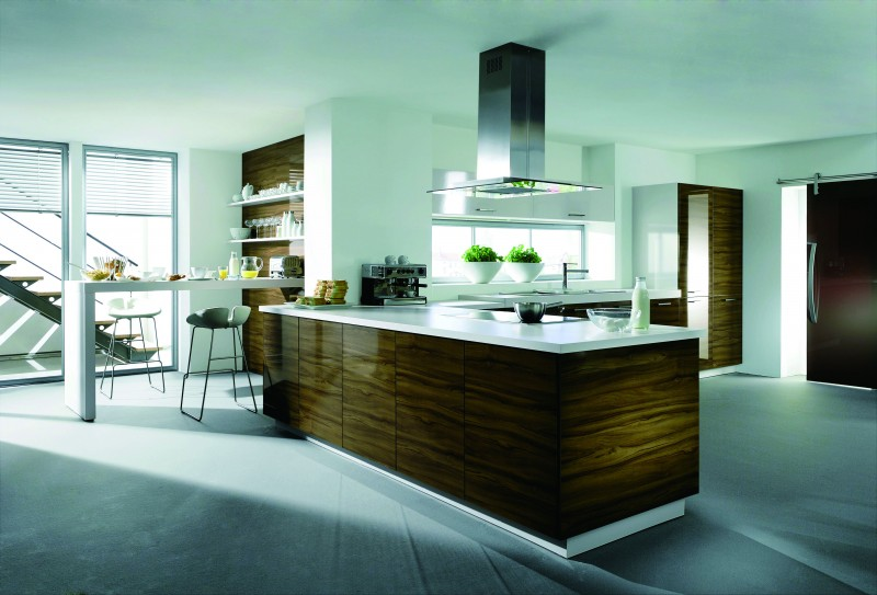 jisheng cleaning high gloss kitchen cabinets easy to