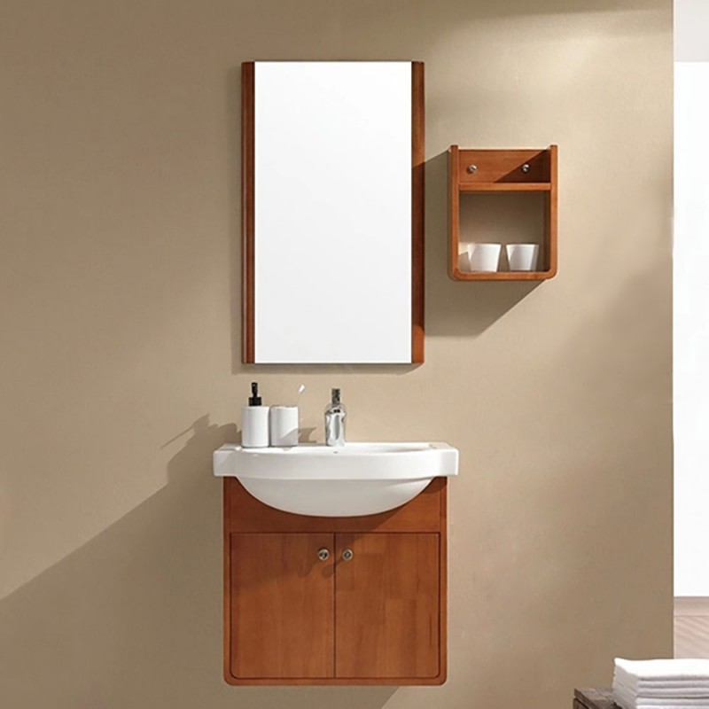 Jisheng Wood Grain Plywood Panel Bathroom Vanity Cabinets_ Without Tops_bathroom Furniture Supply