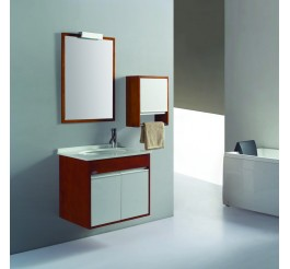 unique bathroom vanities_wood grain matches white acrylic E1 plywood panel