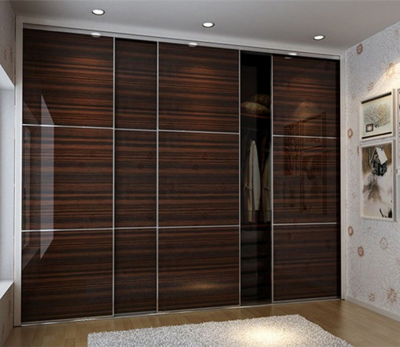 laminate wardrobe designs in black bedroom furniture