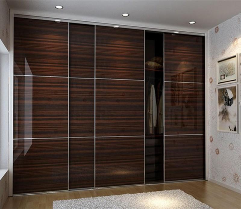 Bedroom Armoires Bedroom Cupboard Door Designs Dim Lighting Bedroom Orange Accent Wall Bedroom: Laminate Wardrobe Designs In Black Bedroom Furniture