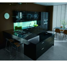 design a kitchen layout black gross