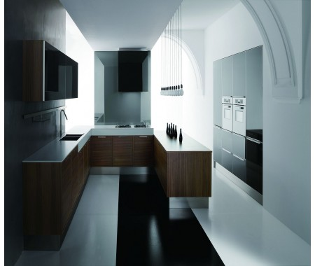 kitchen designs gallery black gloss