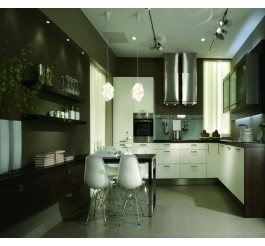kitchen lay out high end feeling