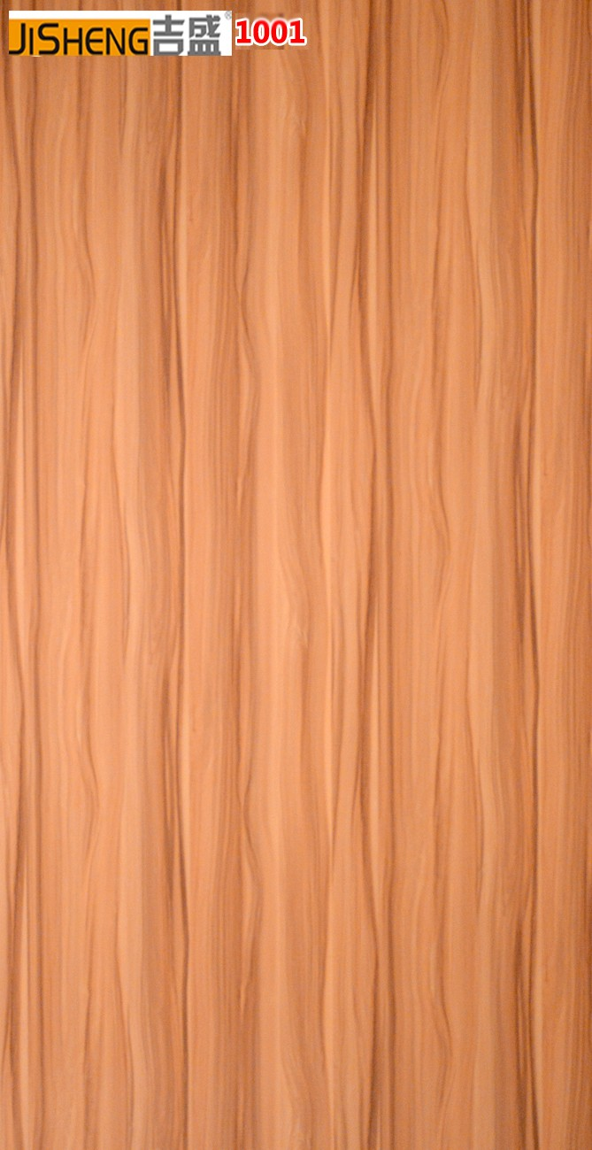 Jisheng Gloss Panel Wood Grain Db Kitchen