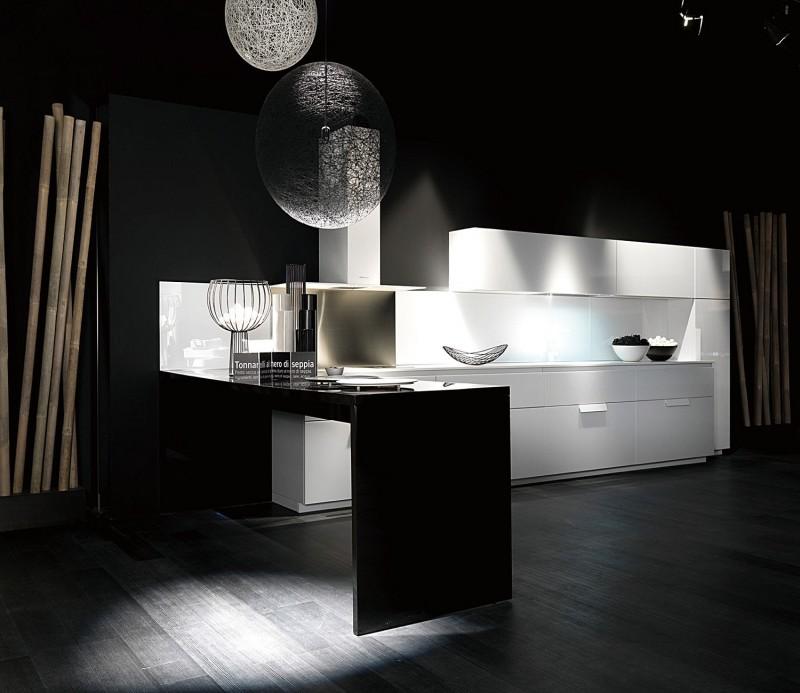 JISHENG high gloss kitchen cabinets suppliers-black and ...