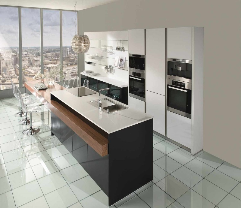 Jisheng Modern Kitchen Cabinet, UV High Gloss Design