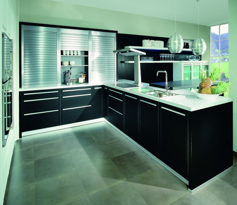 JISHENG Kitchen Cabinet Design _ Roller Shutter