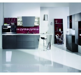 UV high gloss kitchen cabinet high-end design