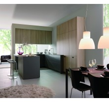 kitchen cabinet color and wood grain combinations