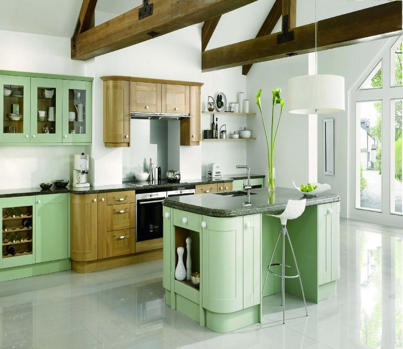 JISHENG Kitchen Cabinets Online_ Country Design