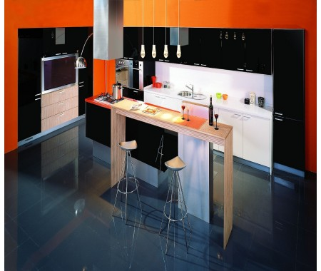 modern kitchen decor color combination