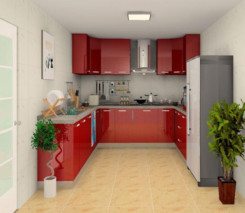 jisheng custom kitchen cabinet designsred color dbkitchen