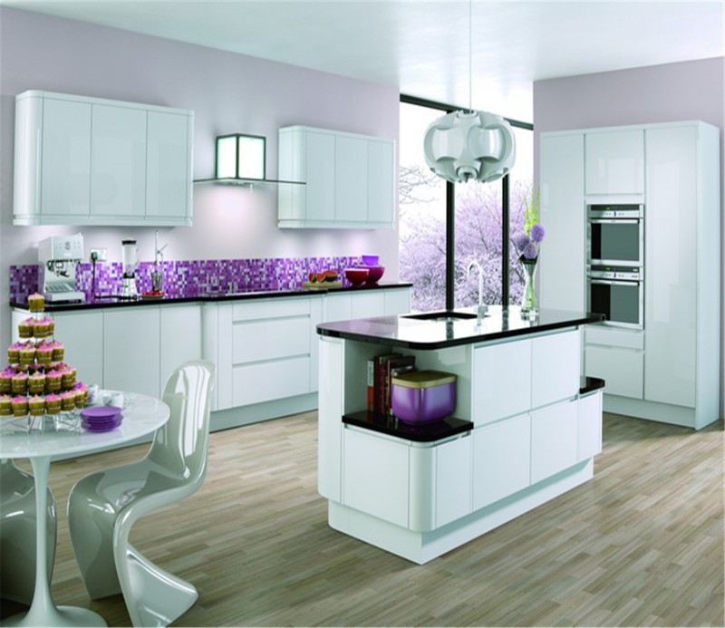 This is creative uv mdf kitchen cabinet with high gloss ...
