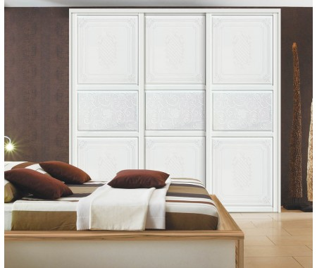 3 sliding door contemporary wardrobe door designs