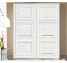 sliding door white color contemporary wardrobe door designs