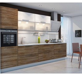 High gloss UV custom kitchen cabinet
