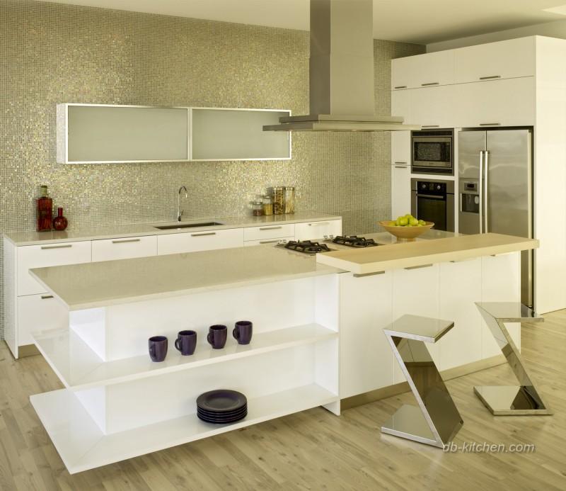Custom Kitchen Cabinet Flashing
