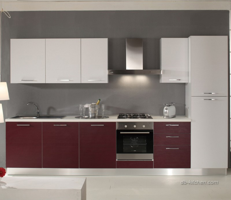 Colored Petg Matte Kitchen Cabinet Design Ideas