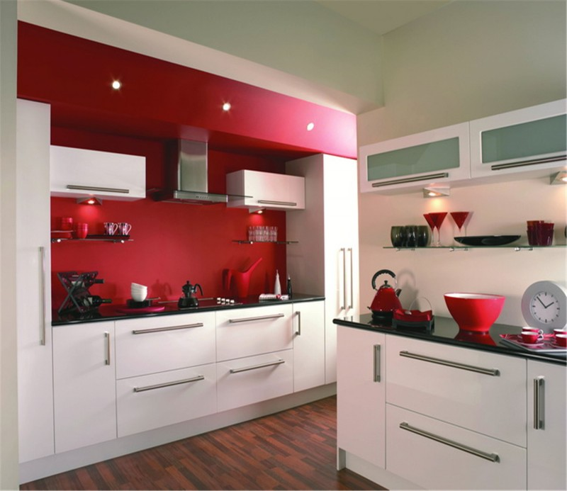 High Gloss Kitchen Cabinets Color Combination Cabinet: Color Combination High Gloss Kitchen Cabinet Style