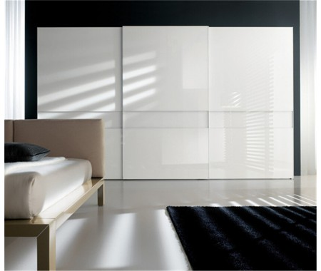 high gloss lacquer wardrobe style design