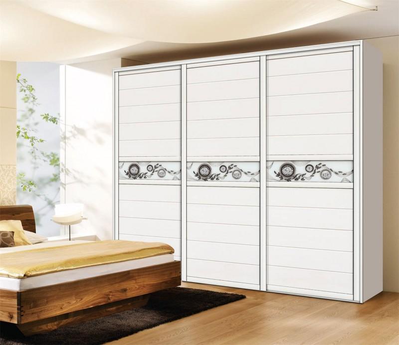 Modern Matt Finish Melamine Plywood Wardrobe Design