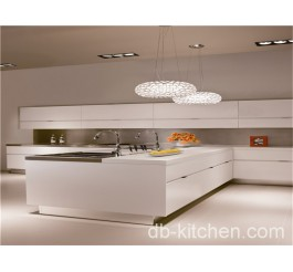 High gloss MDF acrylic kitchen cabinet European style design