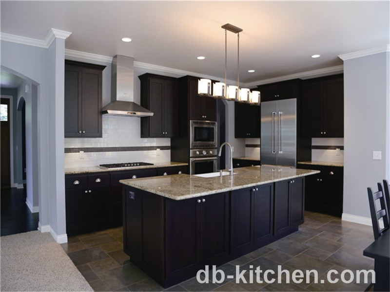 high class modern PVC imported kitchen cabinets from China ...