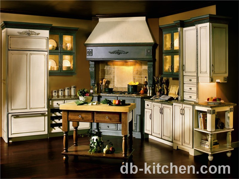 Classic Style Pvc Kitchen Furniture Cabinet China For Small Kitchen