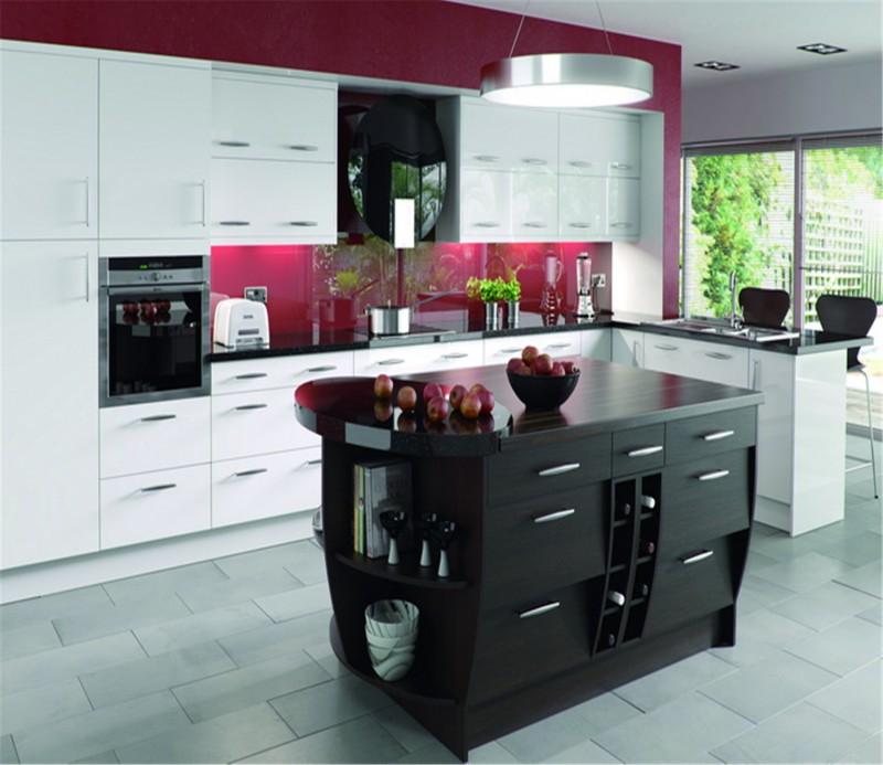 Melamine Plywood/mdf/ Kitchen Cabinet Matt Finish With Good Grain Style