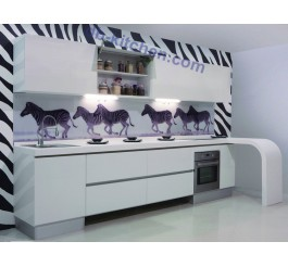high gloss white lacquer custom China kitchen cabinet