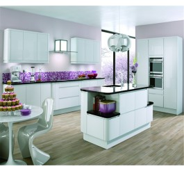 modern high gloss kitchen cabinet furniture design