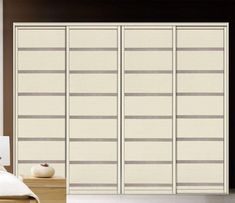 Customized Melamine Plywood Wardrobe With High Gloss