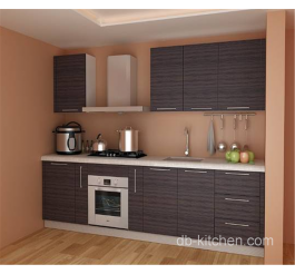 customize melamine grey color kitchen cabinet
