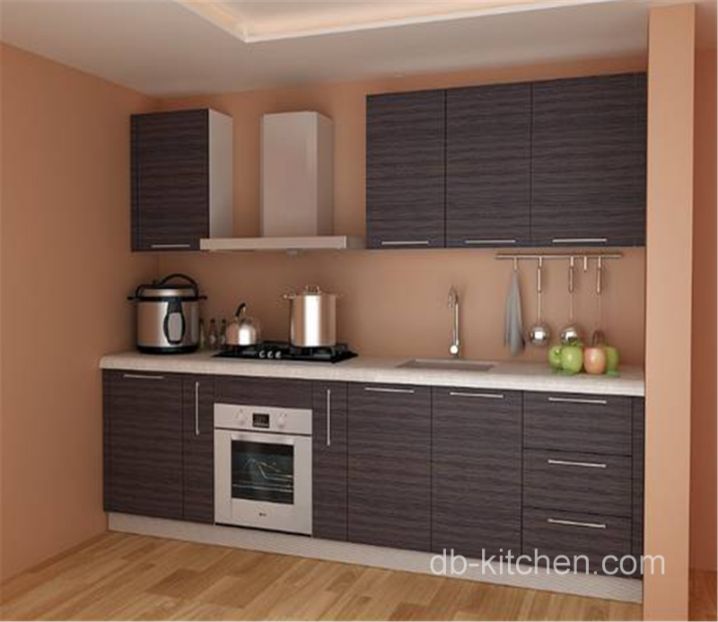 Melamine Kitchen Cabinets: Customize Melamine Kitchen Color Combination On Simple Design