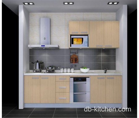 beige melamine customize kitchen cabinet for small kitchen cabinet