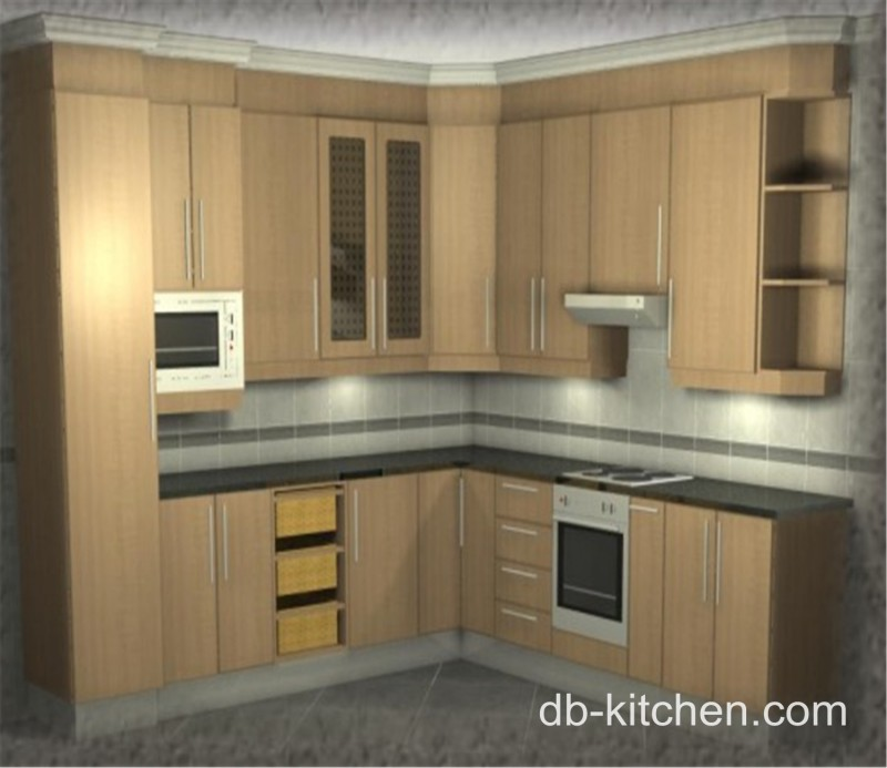Melamine Kitchen Cabinets: Old Style Classic Custom Melamine Kitchen Cabinet