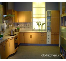 whole country style PVC kitchen cabinet set
