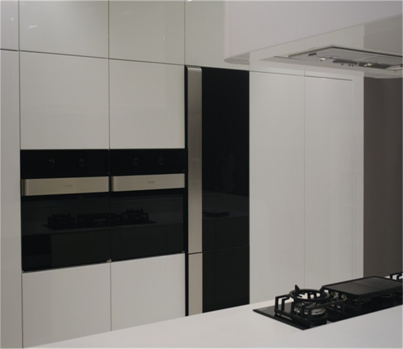 Color Combination Color Uv High Gloss Kitchen Cabinet