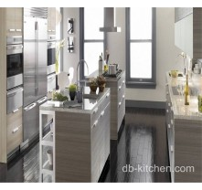 modern custom made melamine small kitchen cabinet design
