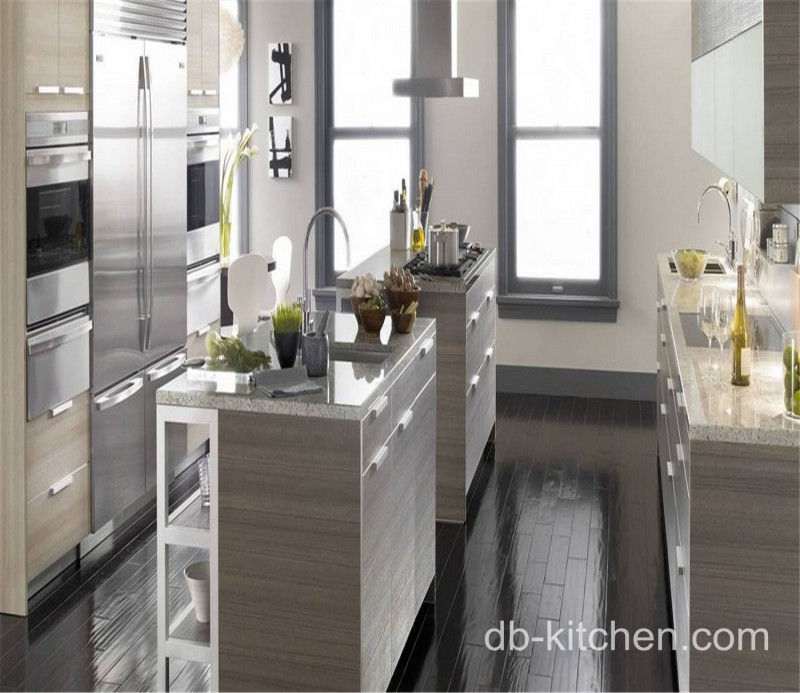 custom made melamine small kitchen cabinet design