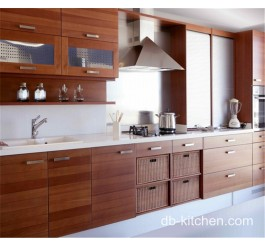 I shape melamine practical kitchen cabinet design