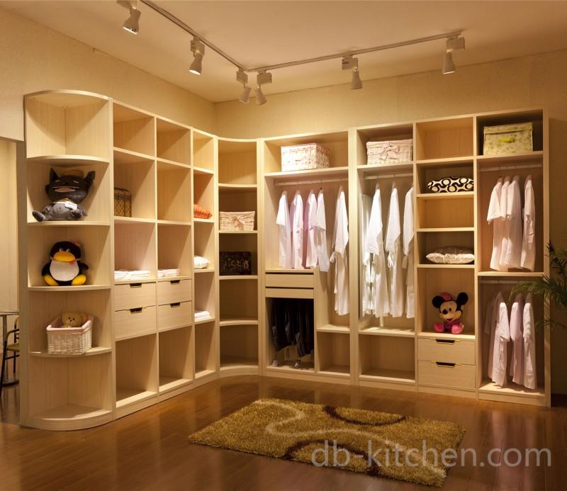 High class mdf open wardrobe design for Kitchen wardrobe design
